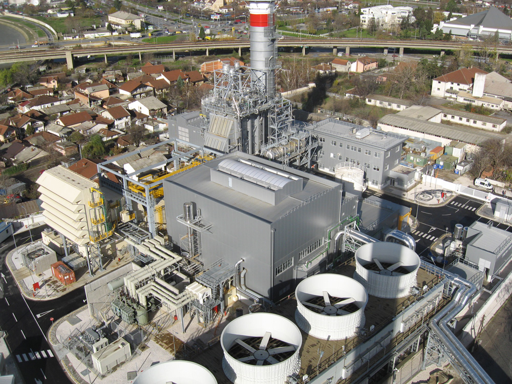Architecture and finishing works for 220MW Combined Cycle Cogeneration Plant Te-To