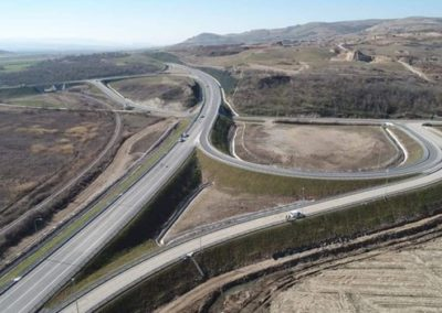 Construction of Expressway A3 Stip – Kocani, section Stip – Krupishte